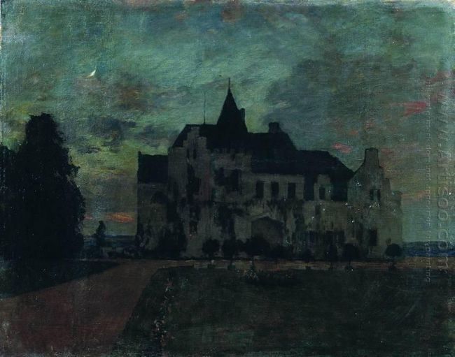 Twilight A Castle 1898