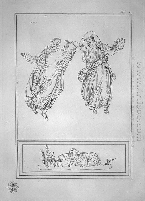 Two Bacchantes Dancing