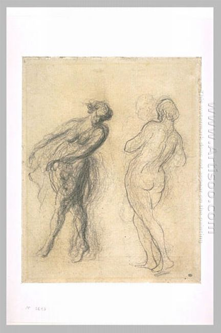 Two Sketches For A Dancer