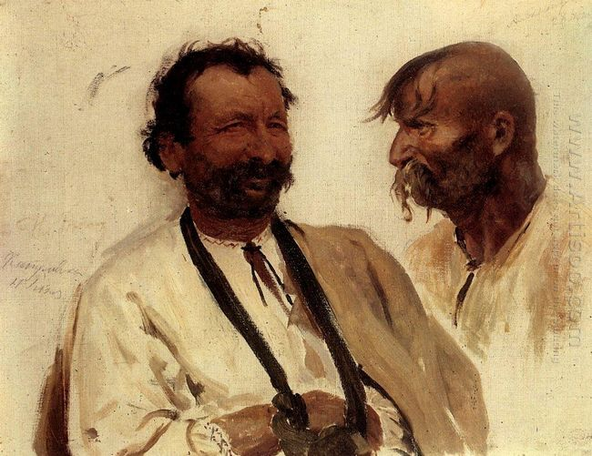 Two Ukrainian Peasants 1880