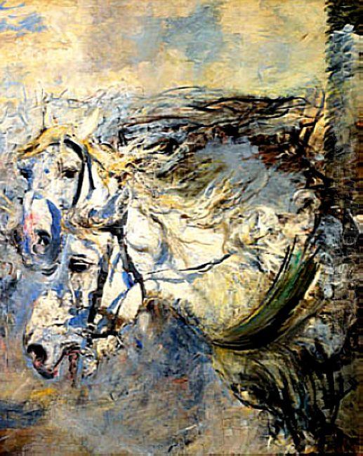 Two White Horses 1886