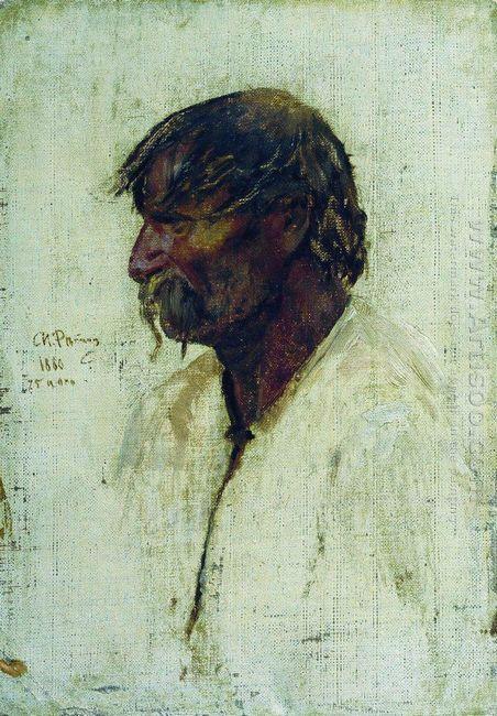 Ukrainian Peasant 1880