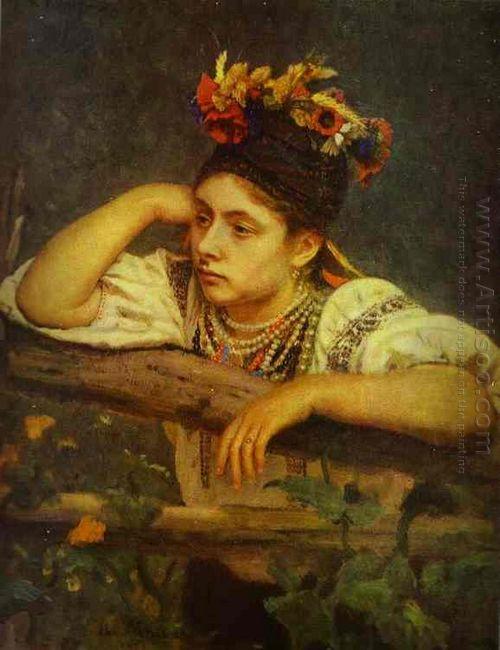 Ukranian Girl 1875