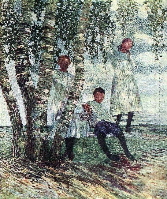 Under Birches