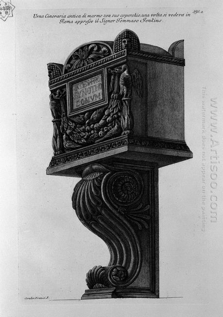Urn Of Marble With Its Lid