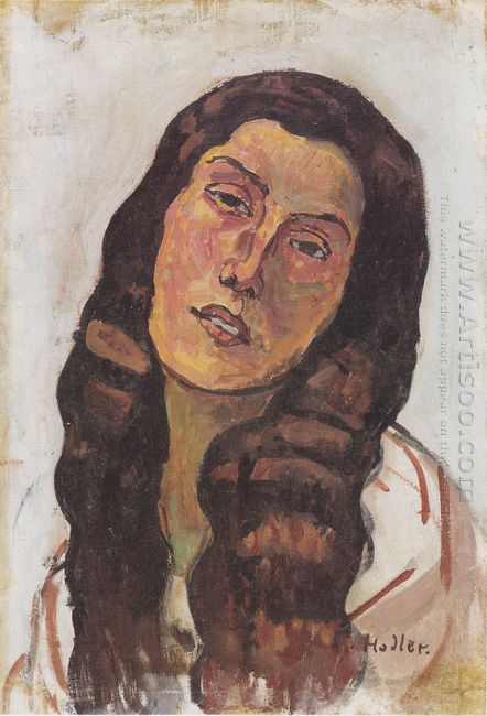 Valentine Gode Darel With Disheveled Hair 1913
