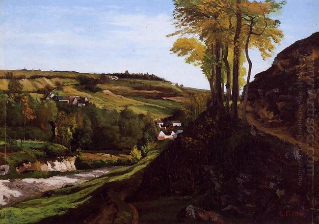Valley Of Ornans 1858