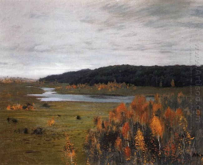 Valley Of The River Autumn 1896