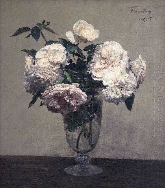 Vase Of Peonies 1875
