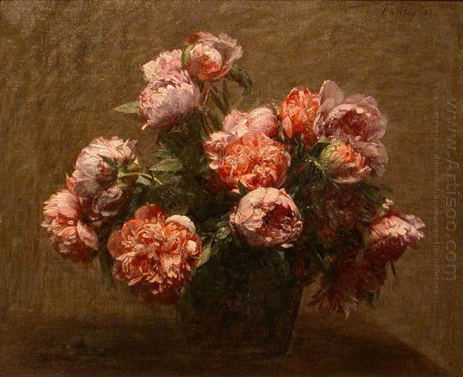 Vase Of Peonies 1881