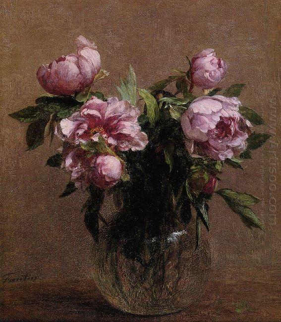 Vase Of Peonies 1902