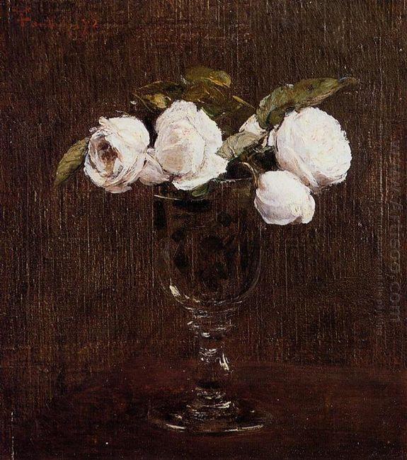 Vase Of Roses 1872