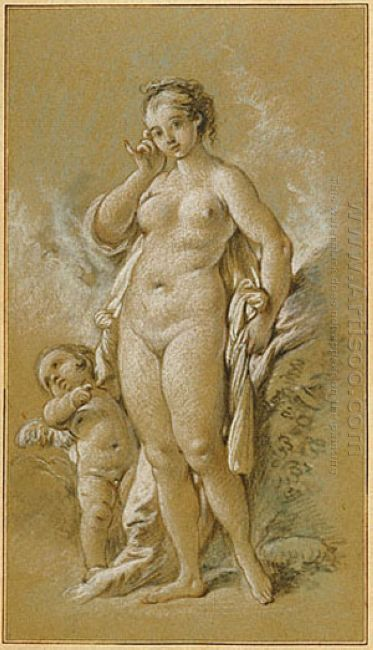 Venus And Cupid 1752