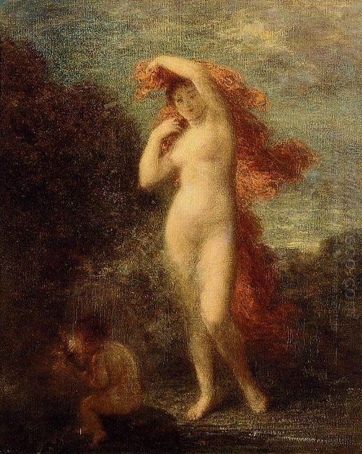 Venus And Cupid 1902