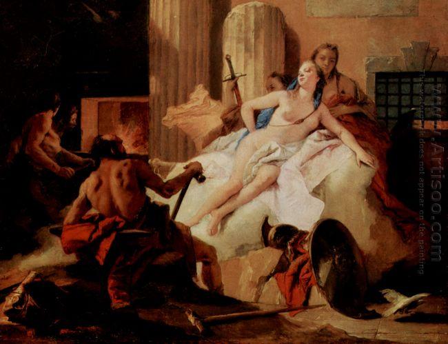 Venus And Vulcan 1760