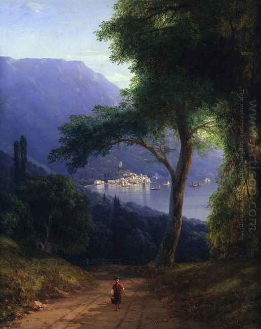 View From Livadia 1861