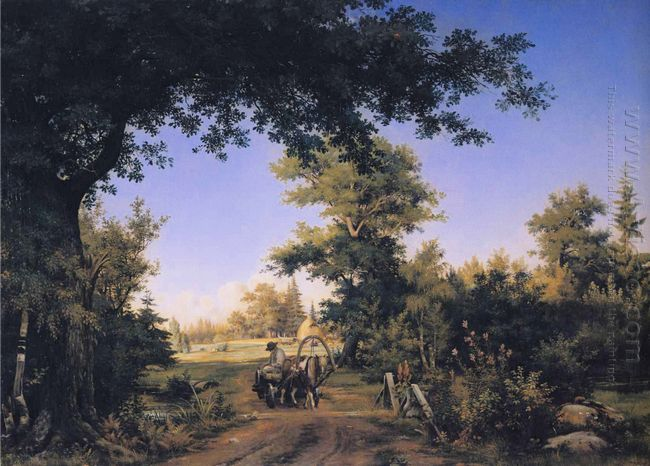 View In The Vicinity Of St Petersburg 1856
