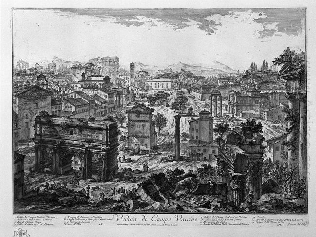 View Of Campo Vaccino