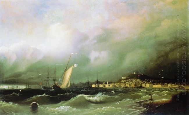 View Of Feodosiya 1845