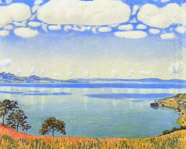 View Of Lake Leman From Chexbres 1905