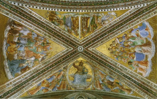 View Of The Chapel Vaulting