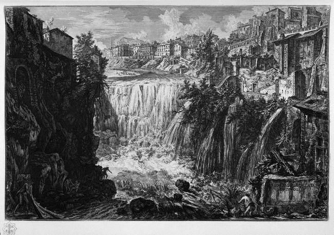 View Of The Falls Of Tivoli