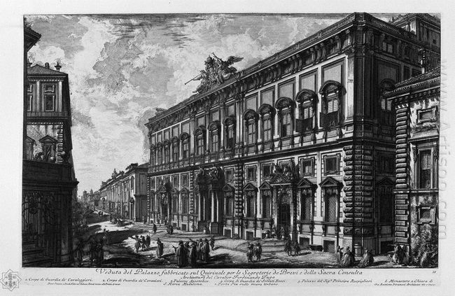 View Of The Farnese Palace
