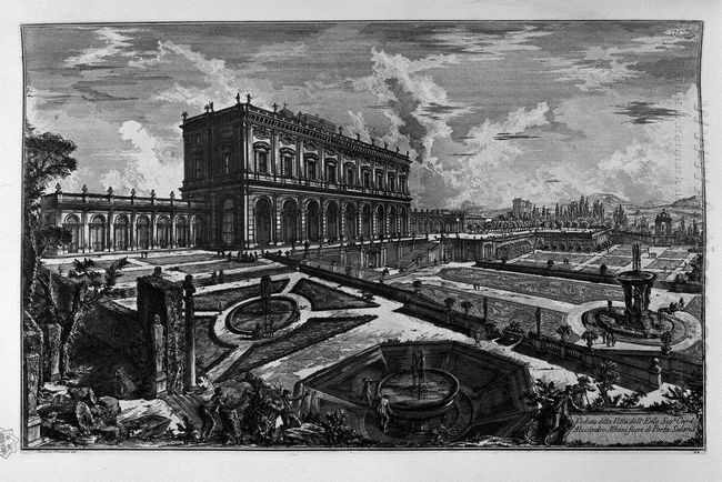 View Of The Palazzo Odescalchi