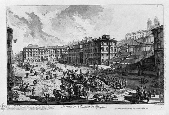 View Of The Piazza Del Popolo