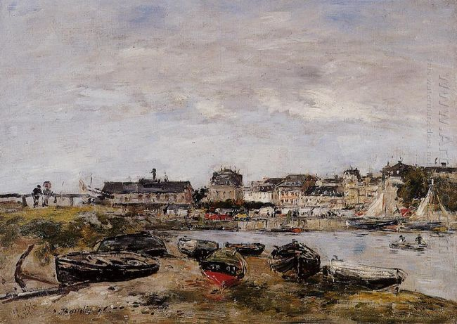View Of The Port Trouville 1896