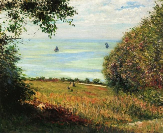 View Of The Sea From Villerville