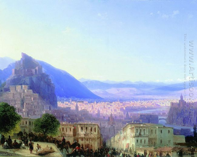 View Of Tiflis 1868