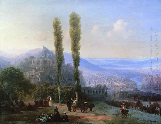 View Of Tiflis 1869