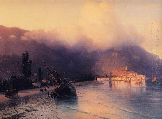View Of Yalta 1867