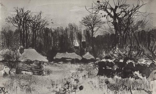 Village Early Spring 1888