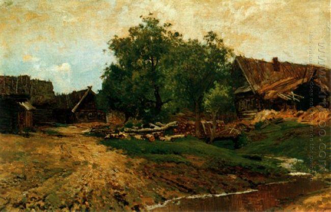 Village Savvinskaya 1884