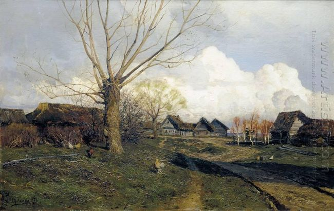 Village Savvinskaya Near Zvenigorod 1884