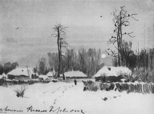 Village Winter 1888