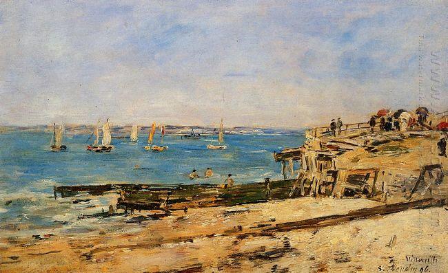 Villerville The Shore 1896