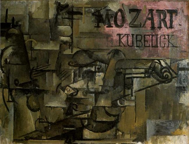 Violin Mozart Kubelick 1912
