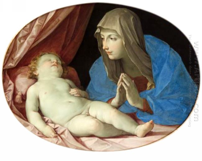 Virgin And Child Adoring 1642