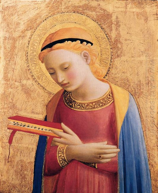 Virgin Mary Annunciate 1433