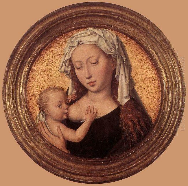 Virgin Suckling The Child 1490