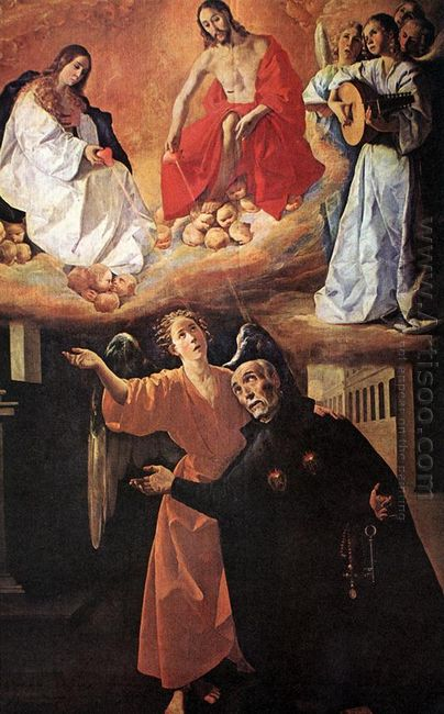 Vision Of Blessed Alonso Rodriguez 1633