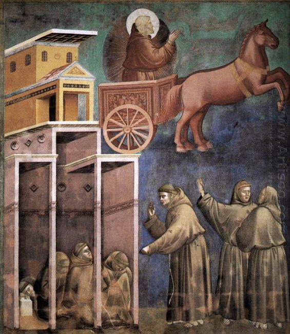 Vision Of The Flaming Chariot 1299