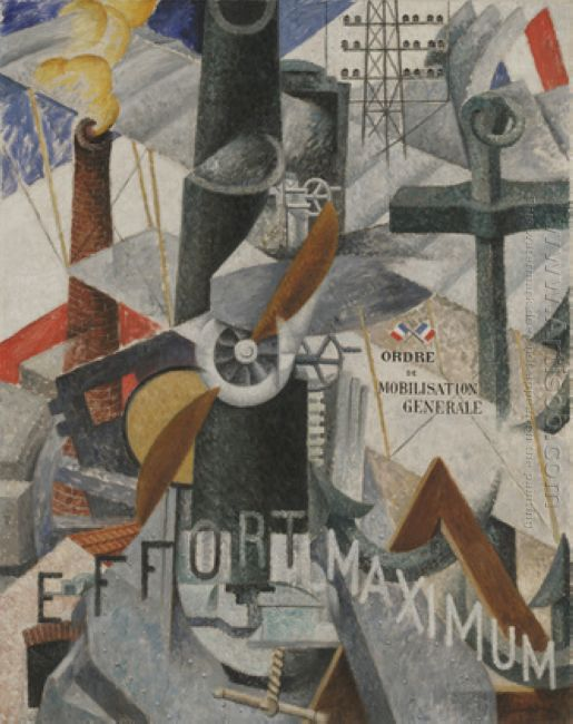 Visual Synthesis Of The Idea War 1914