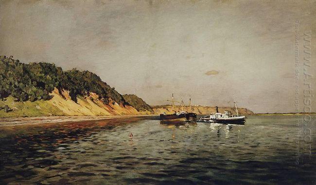 Volga A Calm Day 1895