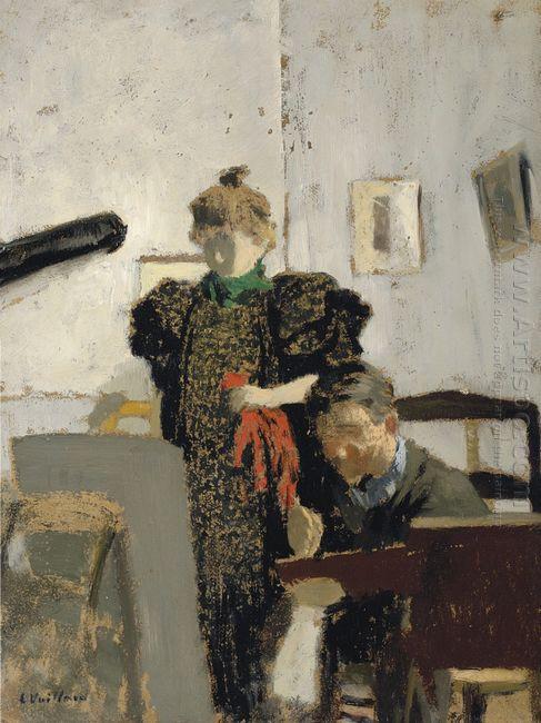 Vuillard Valloton In Natanson 1897