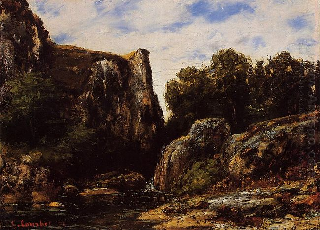 Waterfall In The Jura 1876
