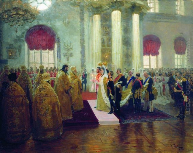 Wedding Of Nicholas Ii And Grand Princess Alexandra Fyodorovna 1
